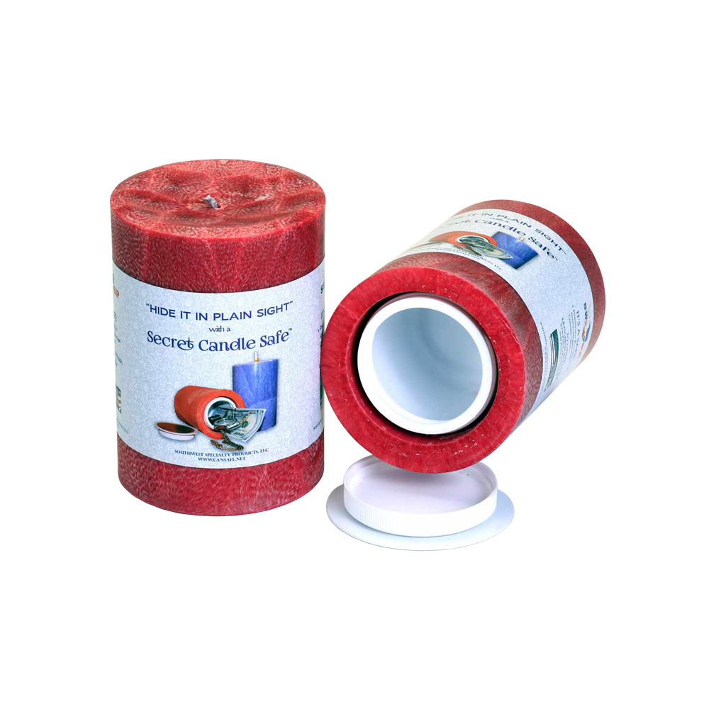 Candle Security Container | Red | Buy Wholesale