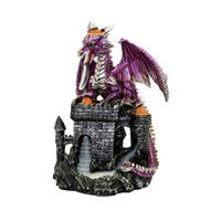 Castle Dragon Triple Backflow Incense Burner | Wholesale Distributor