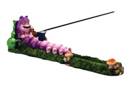 Caterpillar Incense Burner - Polyresin / 10""
