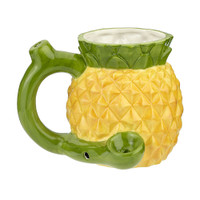 Ceramic Pineapple Pipe Mug | Wholesale Distributor