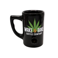 Ceramic Wake & Bake Coffee Mug Pipe | Wholesale Distributor