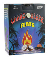 Charcoblaze Coconut Charcoal - Flats / 150pc