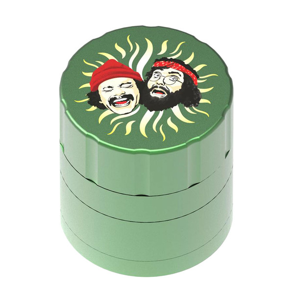 Cheech & Chong 40th Anniversary Grinder | Green | Wholesale Distributor