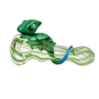 Clinging Chameleon Spoon Pipe | Wholesale Distributor
