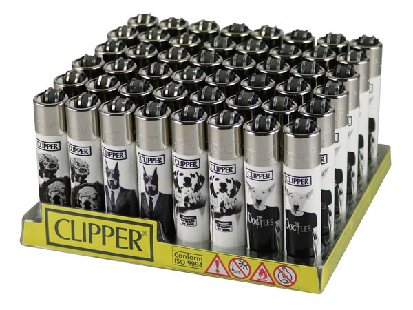 Clipper Lighter - Doggie - 48pc Display