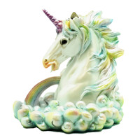 Cloud Breathing Unicorn Backflow Incense Burner | Wholesale