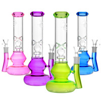 Colorful Base Water Pipe - 10"
