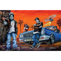 Compton Art by Dano Poster | Wholesale Distributor