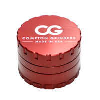 Compton Grinders Medium Grinder 4pc | Red | Wholesale