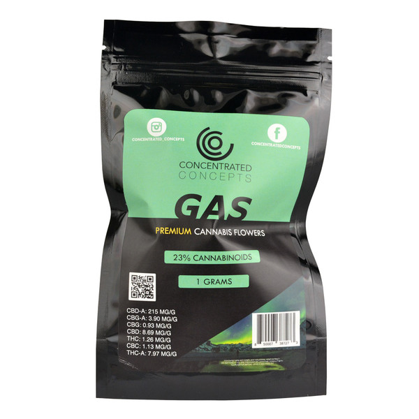 Concentrated Concepts CBD Flower | Gas