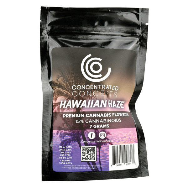 Concentrated Concepts Wholesale CBD Flower | Hawaiian Haze