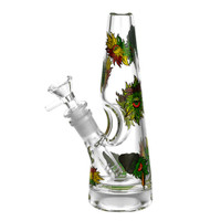 Conical Stoner Eye Water Pipe - 8"