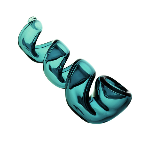 Corkscrew Glass Hand Pipe | Best Wholesale Distributor