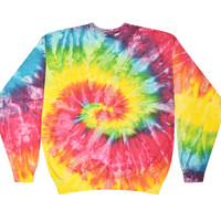 Tie-Dye Pullover Sweatshirt | Cotton Blend | Wholesale Distributor