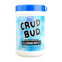 Crud Bud Multipurpose Cleaning Wipes - Tub