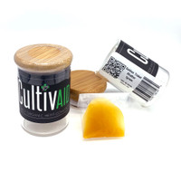 Cultivaid CBD Shatter | Golden Ticket | Wholesale Distributor