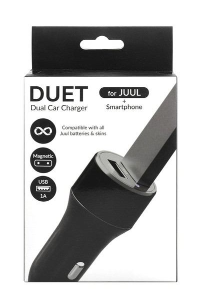 DUET Dual Car Charger for JUUL