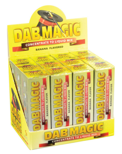 Dab Magic Concentrate to E-Juice Mix - Banana | 12pc