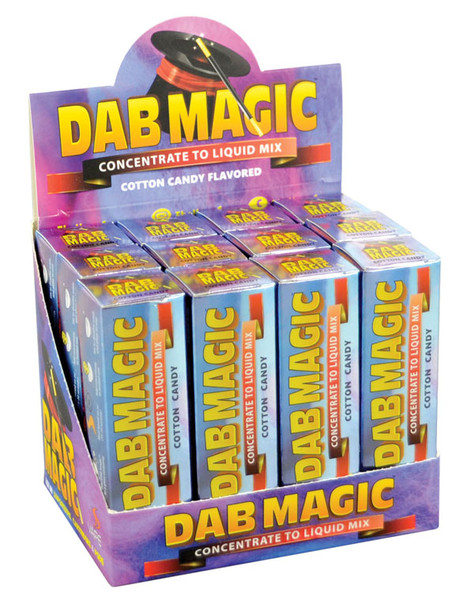Dab Magic Concentrate to E-Juice Mix - Cotton Candy | 12pc
