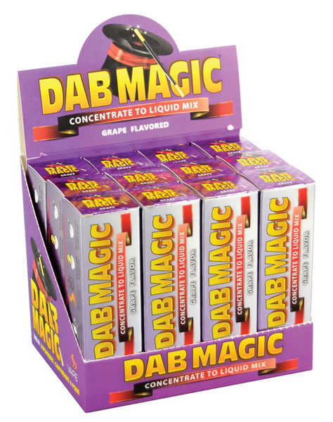 Dab Magic Concentrate to E-Juice Mix - Grape | 12pc
