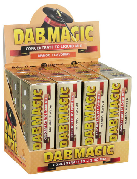 Dab Magic Concentrate to E-Juice Mix - Mango | 12pc