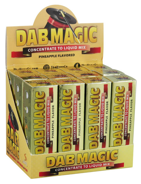 Dab Magic Concentrate to E-Juice Mix - Pineapple | 12pc