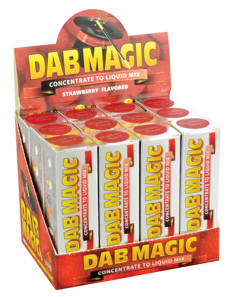 Dab Magic Concentrate to E-Juice Mix - Strawberry | 12pc