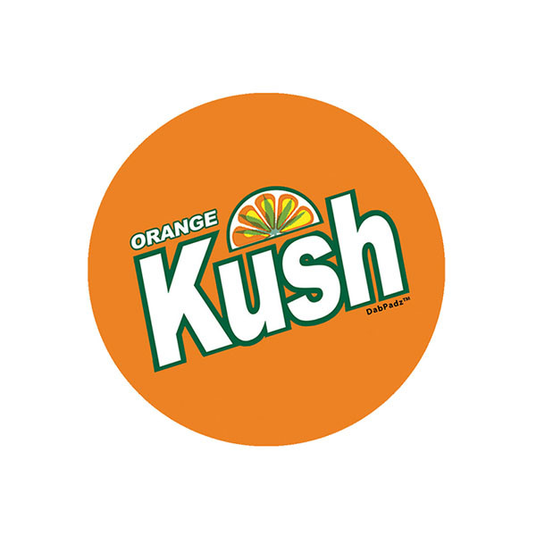 DabPadz Fabric Top - Orange Kush | Buy Wholesale