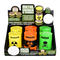 Smokezilla Danger Drum Herb Grinder | Wholesale Distributor