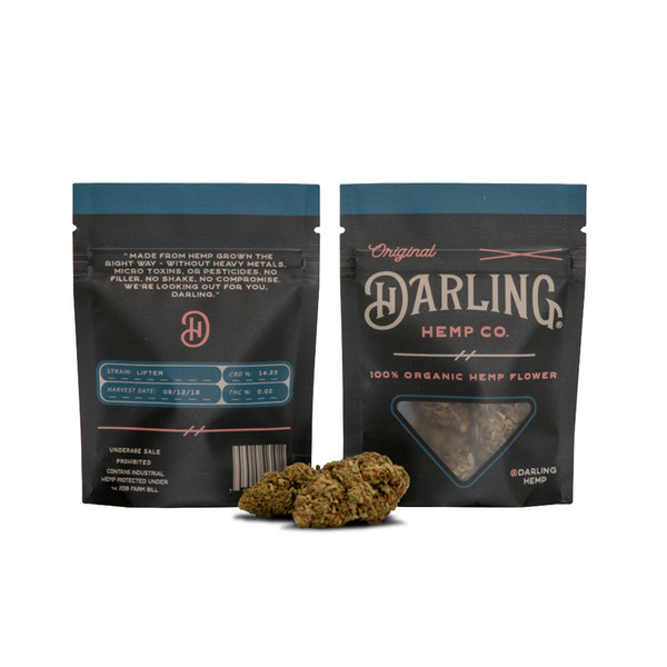 Darling Hemp Flower - 3.5 Gram | Lifter | Wholesale