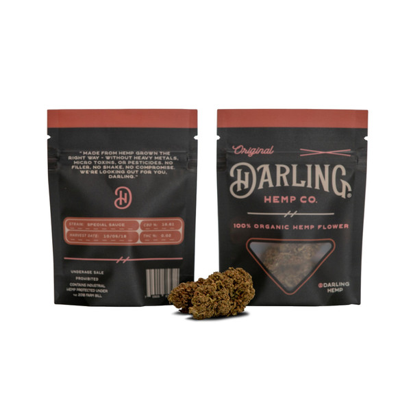Darling Hemp Flower - 1 Gram | Special Sauce | Wholesale