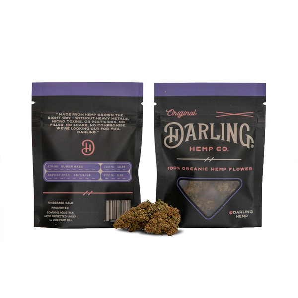 Darling Hemp Flower - 1 Gram | Suver Haze | Wholesale