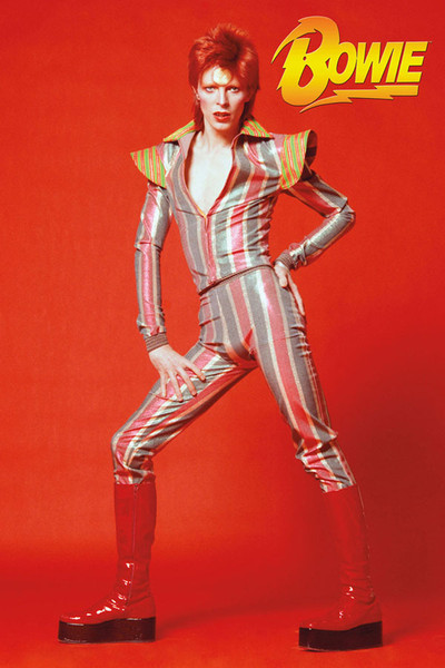 David Bowie Glam Poster - 24x36 - AFG Distribution