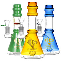 Diamond Glass Diamond Cone Water Pipe | Wholesale Distributor