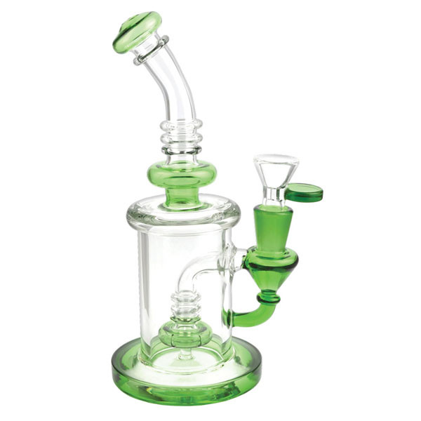 Disc Perc Waterpipe - 8.25"
