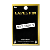 Don't Touch Me Lapel Pin | Wholesale Distributor
