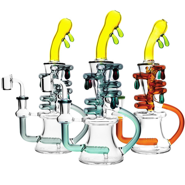 Dripping Oil Rig Recycler - 9.5"