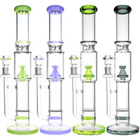 Dual Chamber Diffuser Perc Water Pipe | Wholesale Distributor