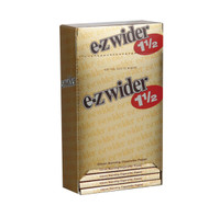 EZ Wider Rolling Papers Gold - 1 1/2"