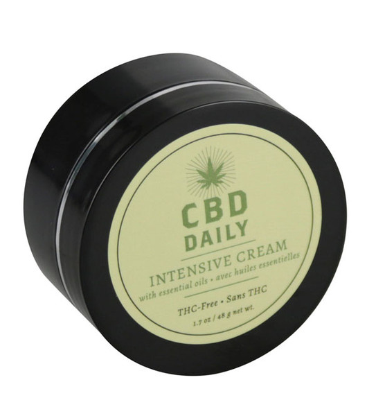 Earthly Body CBD Daily Cream - 12pc Display - 1.7oz - AFG Dist