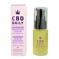 Earthly Body CBD Daily Soothing Serum | Lavender | Wholesale