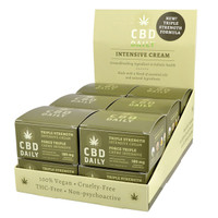 Earthly Body CBD Daily Triple Strength Intensive Cream - 12pc