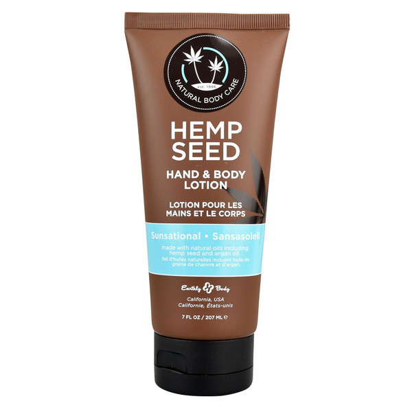 Earthly Body Hemp Seed Lotion | Wholesale | Sunsational