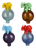 Elephant Bubble Carb Cap - 26mm / Assorted Colors