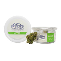 Emerald Family Farms Hemp Flower | Lifter Strain | Wholesale