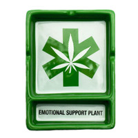 Emotional Support Plant Ceramic Ashtray | Wholesale Distributor