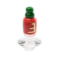 Empire Glassworks Puffco Peak Carb Cap | Hot Sauce