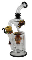 "Empire Glassworks Flagship - 10.5"" / Beehive Recycler"