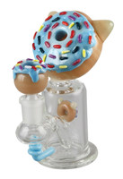 "Empire Glassworks Mini Rig - 5.5"" / Kitty Donut"