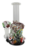 "Empire Glassworks Mini Rig - 7"" / Under The Sea"